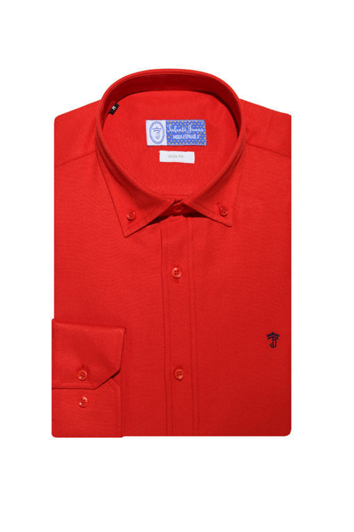 Camisa-Talenti-Jeans-slim-fit-roja