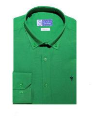 Camisa-Talenti-Jeans-slim-fit-verde
