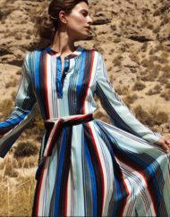 Vestido-Philippa-&-Co-maxi-de-rayas-a