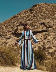 Vestido-Philippa-&-Co-maxi-de-rayas-a2