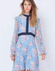 Vestido Poète con estampado floral