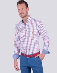 Camisa-La-Española-tartán-blanco