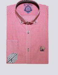 Camisa-La-Vespita-vichy-rosa