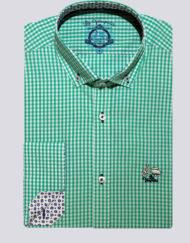 Camisa-La-Vespita-vichy-verde