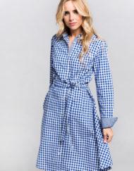 Vestido-Valecuatro-vichy-azul