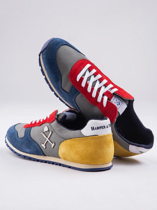 Zapatillas-Harper-&-Neyer-tricolor-grey